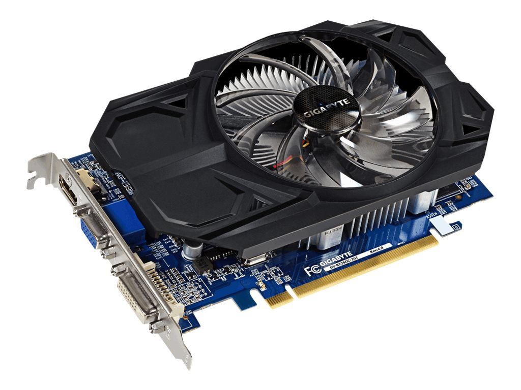 Gigabyte Tech Radeon R7 250 PCIe 4.0 Graphics Card, 2GB DDR3, GV-R725OC-2GIREV4.0