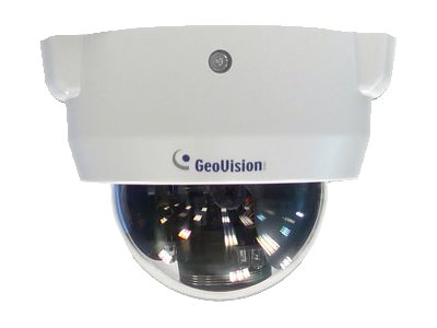 Geovision 2MP H.264 Day Night WDR Pro IR Indoor IP Fixed Dome Camera with 3 to 9mm Lens, 84-FD24000-001U