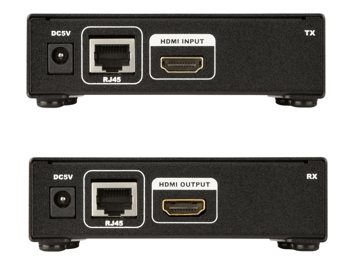 Belkin HDBaseT Cat5e for Digital Signage HDMI Extender Boxes (1 Set – Transmit and Receive) (UP TO 100M), HDBT-BOX-100M