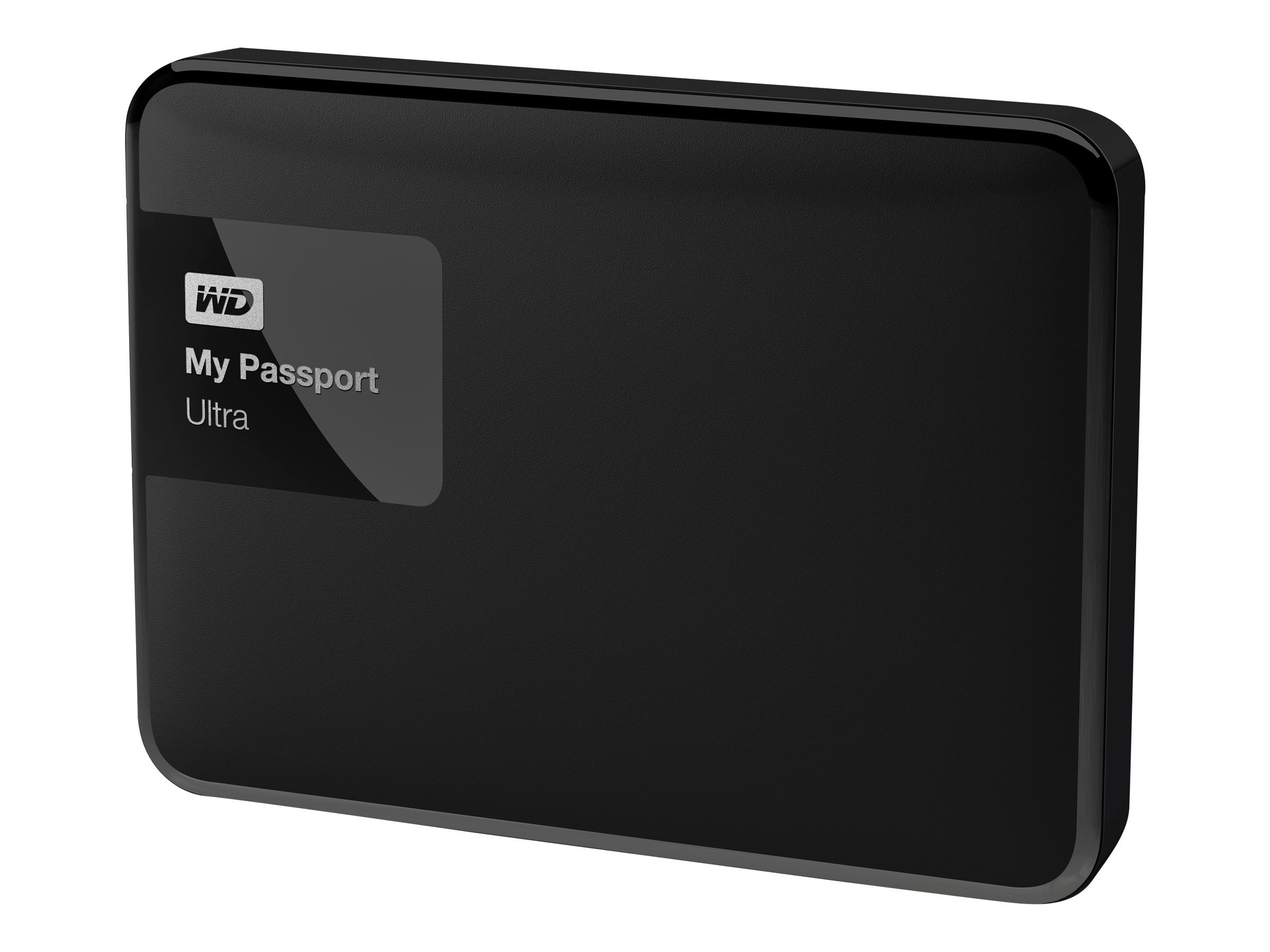 WD 2TB My Passport Ultra USB 3.0 Portable Hard Drive - Black, WDBBKD0020BBK-NESN, 21089083, Hard Drives - External