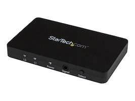 StarTech.com 2-Port HDMI Automatic Video Switch w  Aluminum Housing and MHL Support, 4K 30Hz, VS221HD4K, 18384330, Switch Boxes - AV