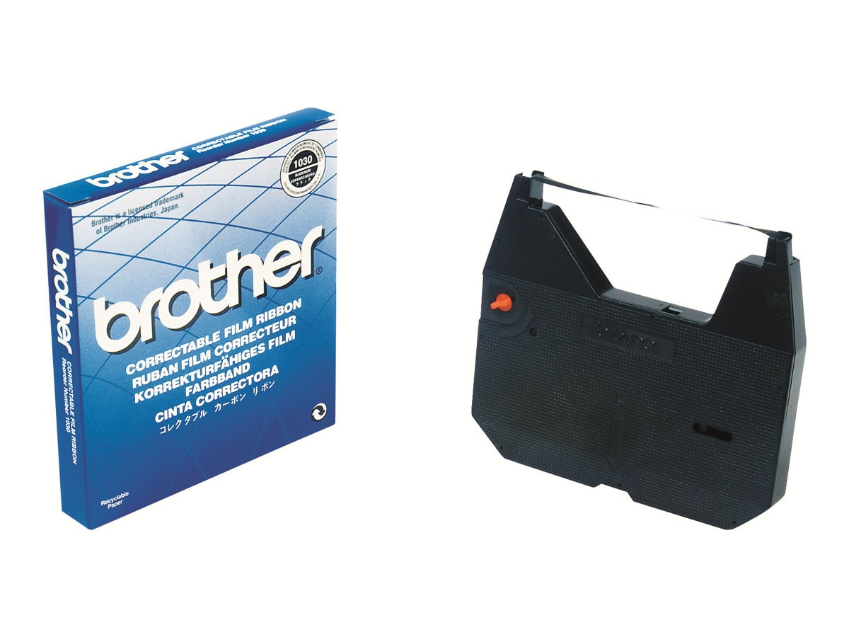 Brother Black Correctable Ribbon, 1-Pack, 1030