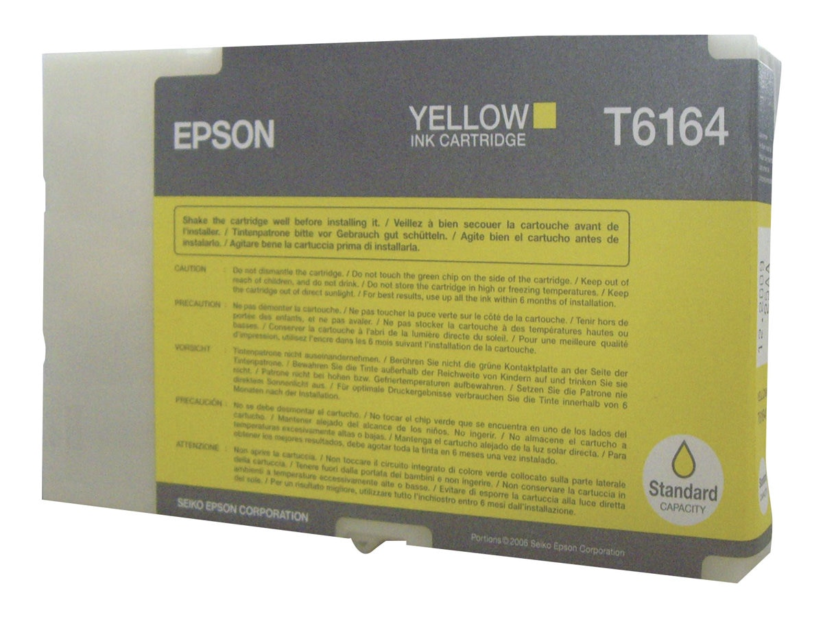 Epson Yellow Ink Cartridge for the B-300 & B-500DN Business Color Ink Jet Printer