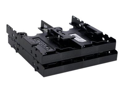"Icy Dock FLEX-FIT Quattro MB344SP 4 x 2.5"" Hard Drive Solid State Drive Bracket for External 5.25"" Bay"