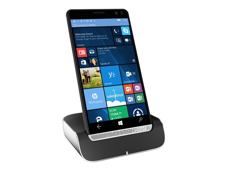 HP Elite x3 SD 820 2.15GHz 4GB 64GB ac abgn BT LTE FR 2xWC Dock 6 WQHD MT W10M