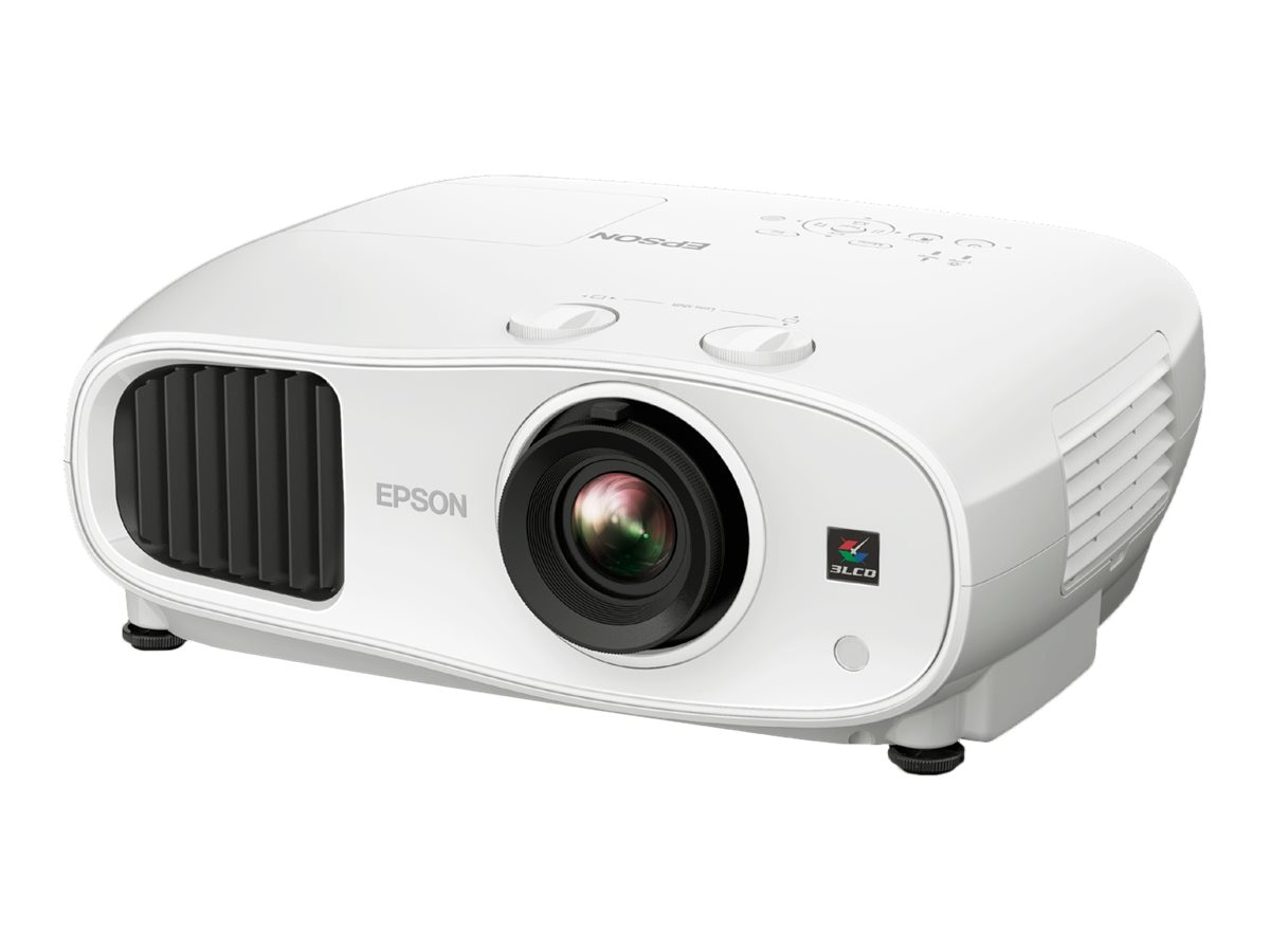 Epson Home Cinema 3100 1080p 3LCD 3D Projector, 2600 Lumens, White