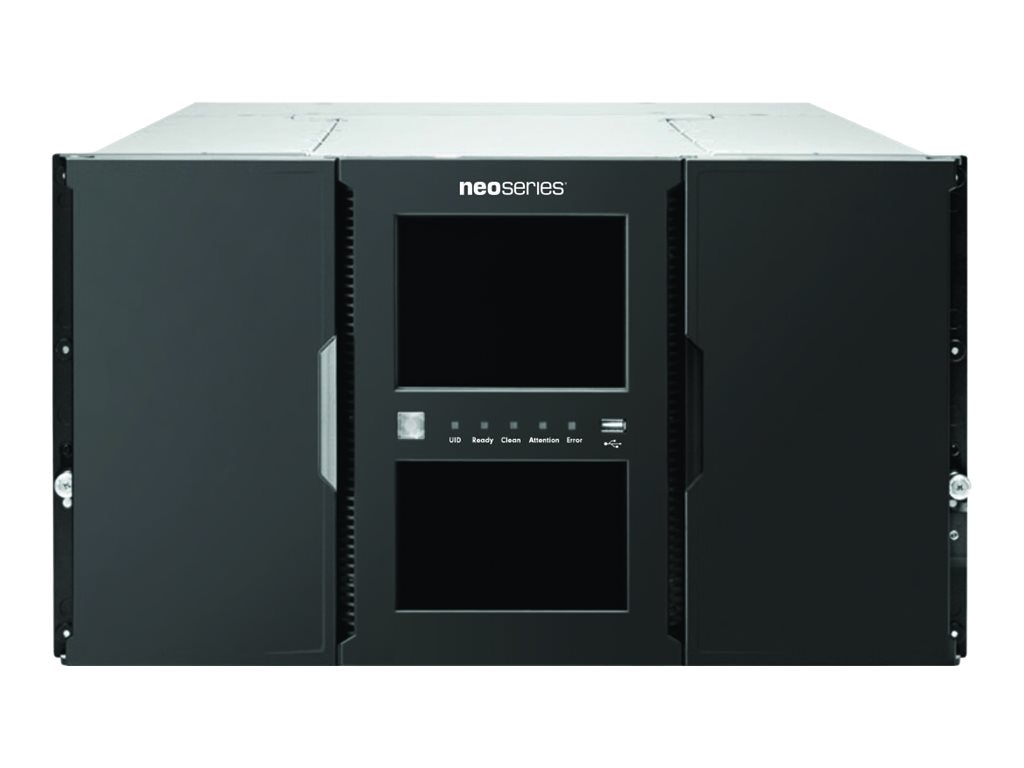Overland NEOXL 80 6U 80-Slot LTO-7 FC Tape Library w  Redundant Power, OV-NEOXL807FC, 30881646, Tape Automation