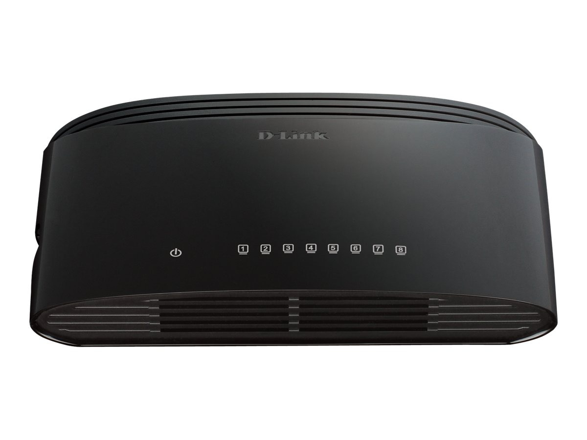 D-Link 8-Port Gigabit Desktop Switch, DGS-1008G