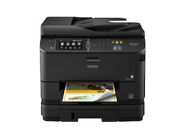 Epson WorkForce Pro WF-4640 All-in-One Printer, C11CD11201, 17456696, MultiFunction - Ink-Jet