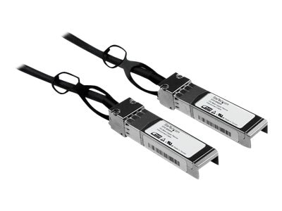 StarTech.com 10Gbase Copper SFP+ M M Direct Attach 30AWG Passive Cable, 5m, SFPCMM5M