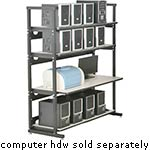 Kendall Howard 48 Performance Plus Heavy Duty LAN Station, 7100-1-100-48, 23727237, Racks & Cabinets