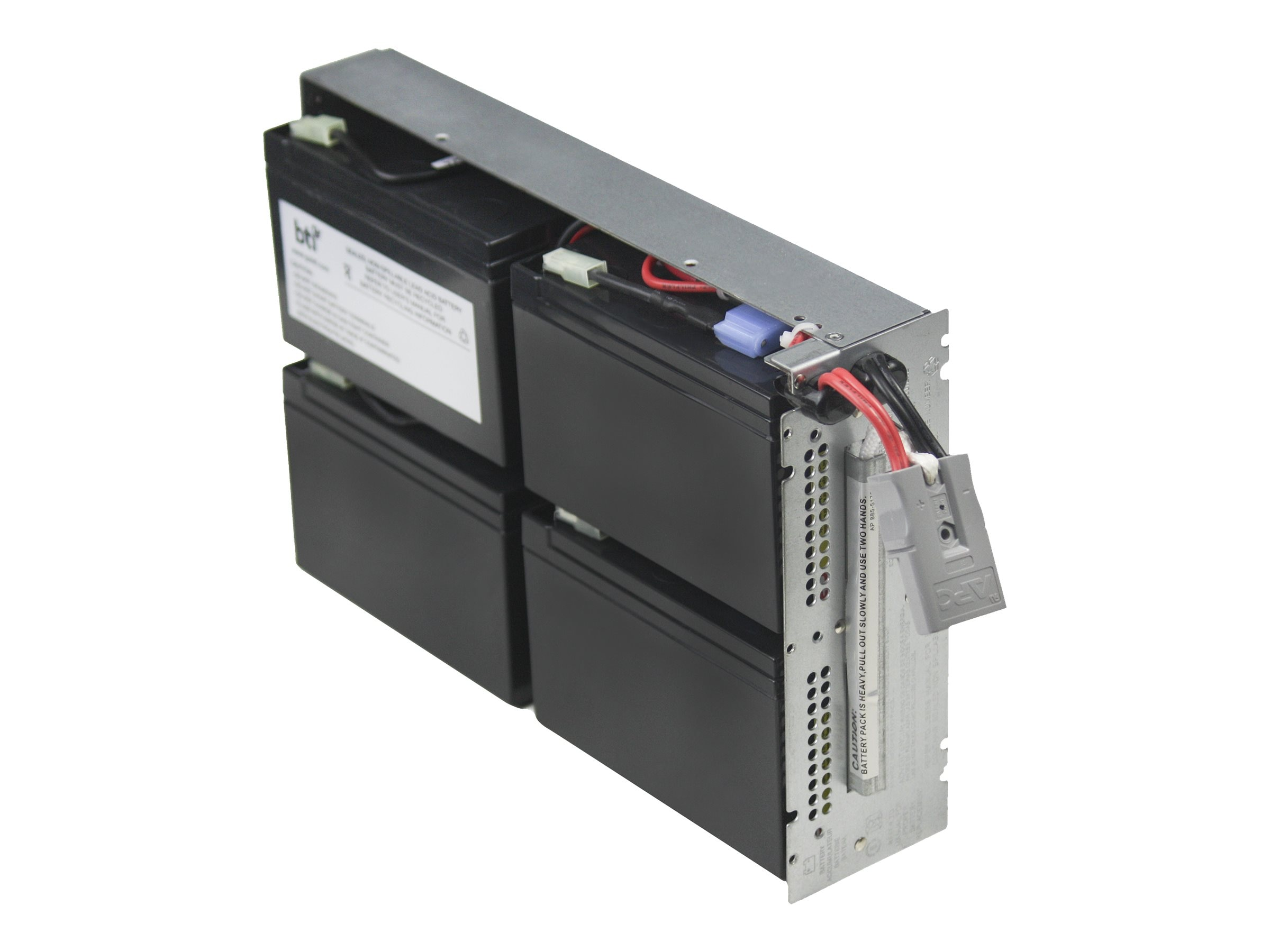 BTI Replacement UPS Battery for APC SMT1000RM2U RBC132 APCRBC132