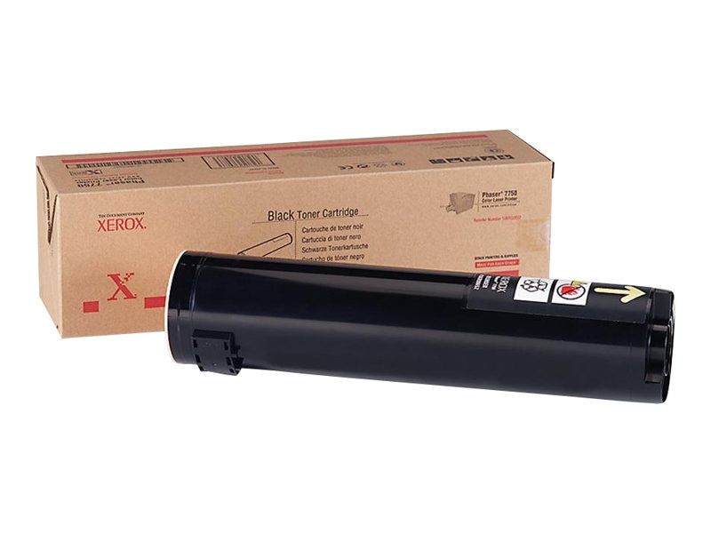 Xerox Black Toner Cartridge For Xerox Phaser 7750, 106R00652