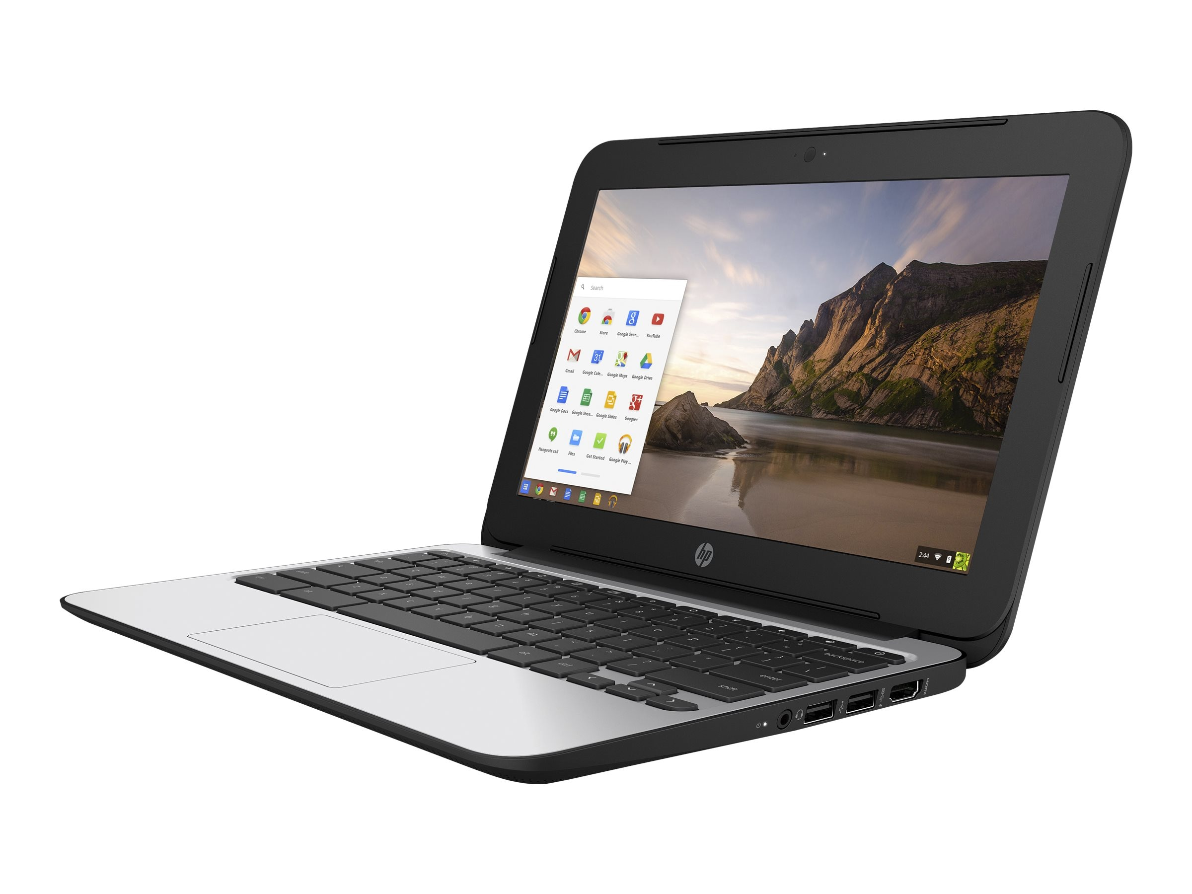 Scratch & Dent HP Chromebook 11 EE G4 Celeron N2840 2.16GHz 4GB 16GB ac abgn BT WC 3C 11.6 HD Chrome OS, V2W30UT#ABA, 32667379, Notebooks