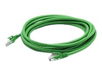 ACP-EP CAT6A UTP Patch Cable, Green, 1ft, ADD-1FCAT6A-GREEN