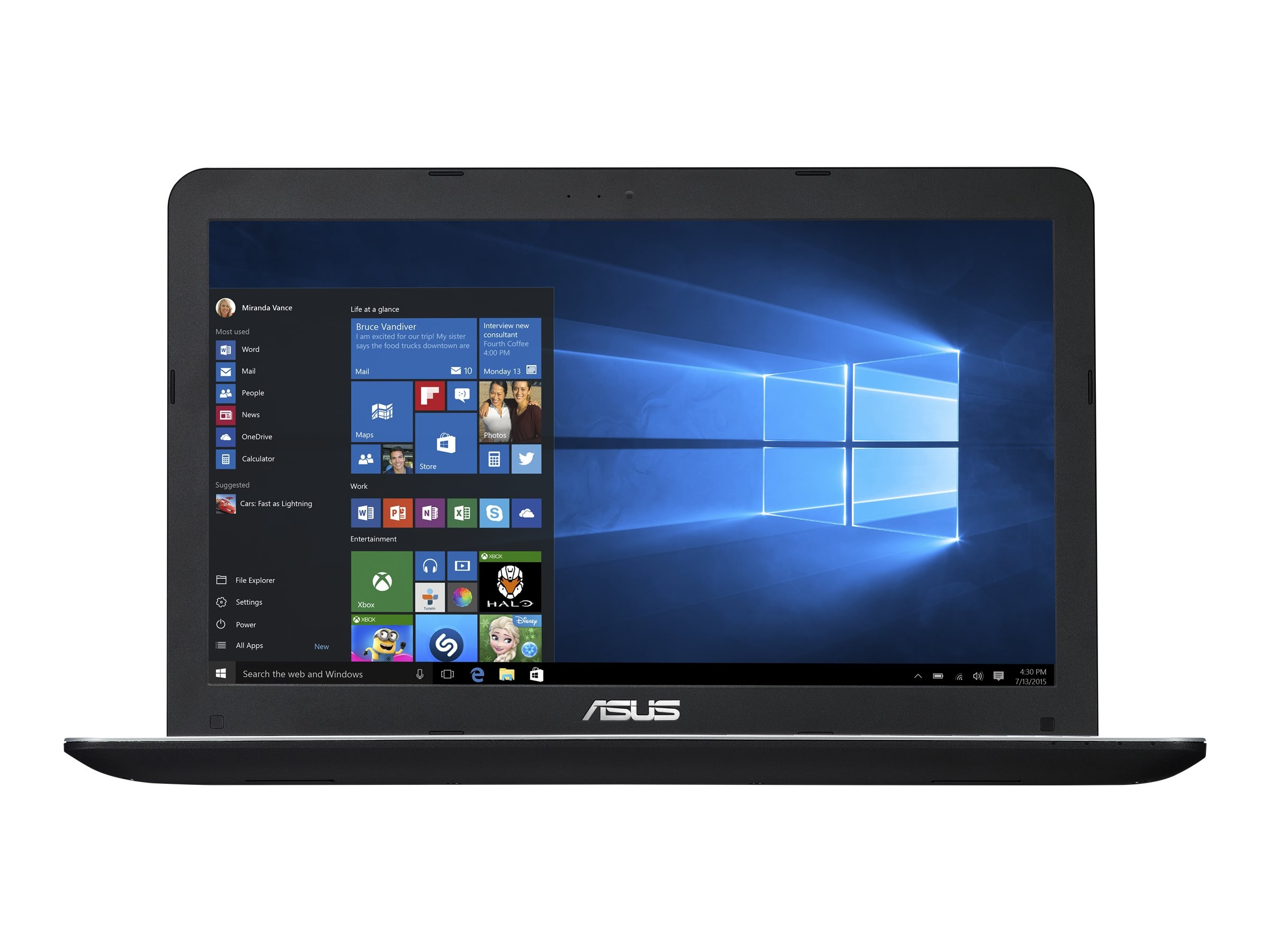 Asus Notebook PC Core i5-5200U 2.2GHz 8GB 500GB, R556LA-RS51, 30817126, Notebooks