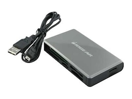 IOGEAR 56-in-1 Universal Memory Bank Card Reader Writer, GFR281W6, 10177256, PC Card/Flash Memory Readers