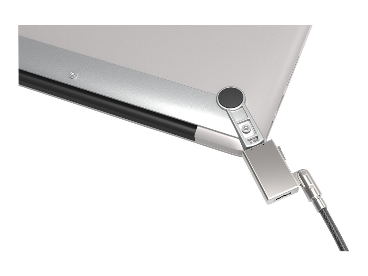 Compulocks MacBook Air Lock   Bracket with Wedge fist Macbook 13  Lock, MBA13BRW, 16239201, Security Hardware