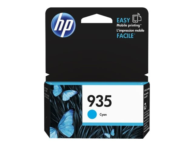 HP 935 (C2P20AN) Cyan Original Ink Cartridge, C2P20AN#140, 17455108, Ink Cartridges & Ink Refill Kits