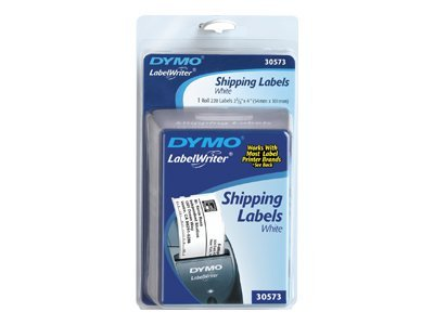 DYMO White Shipping Labels Blister Pack - 2-1 8 x 4 (220 Per Roll), 30573