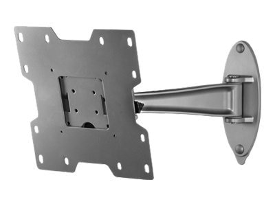 Peerless Pivot Wall Arm for 22 to 40 LCD, Silver
