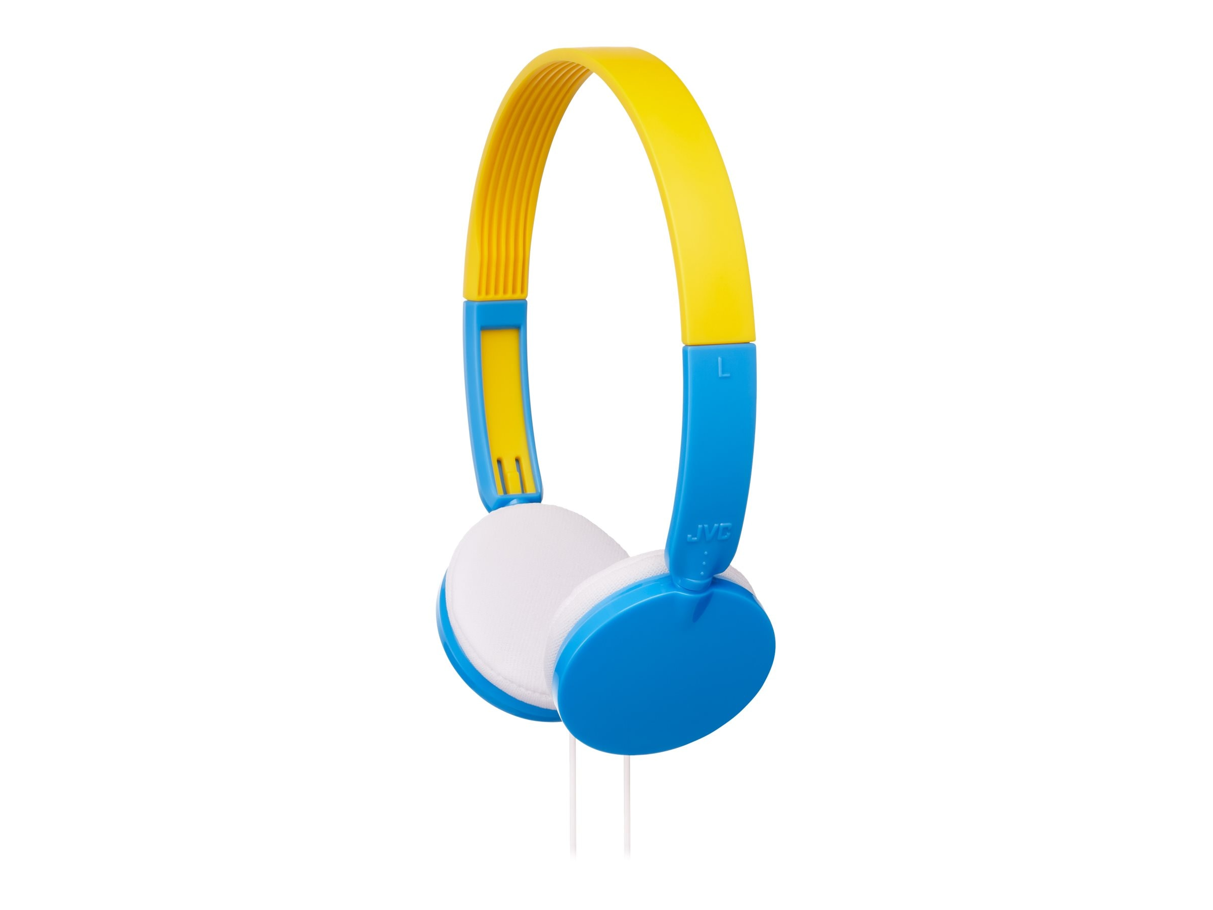 JVC Child Safe Volume Limiting Over Ear Headphones - Blue, HAKD3A