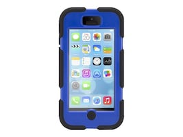 Griffin Survivor Case for iPhone 5C, Black Blue, GB38143-2, 18403262, Carrying Cases - Phones/PDAs