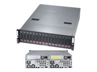 Supermicro SSG-6037B-CIB032 High-Capacity 3U Cluster-in-a-Box (2x) HP Nodes (4x)Xeon E5-2403 v2 1.8GHz 32GB, SSG-6037B-CIB032