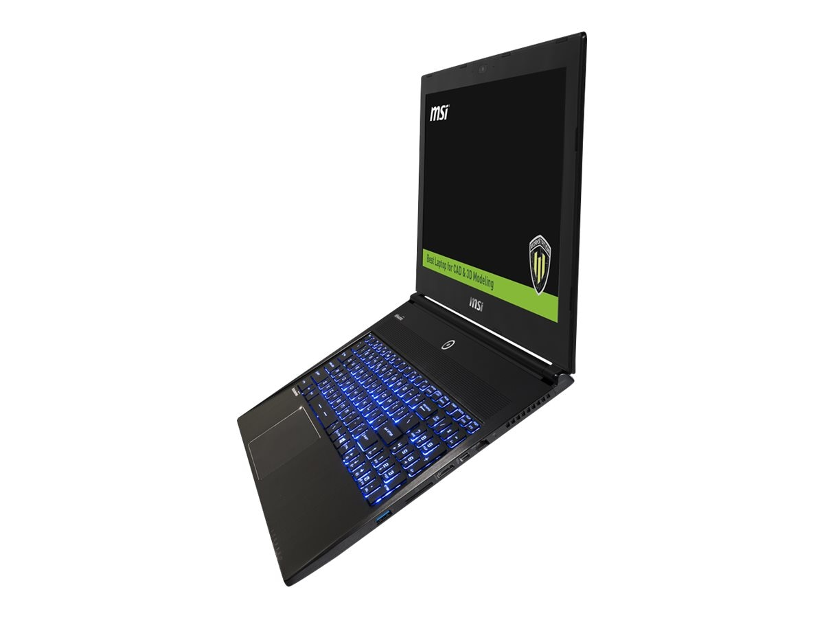 MSI WS60 6QJ-024 Mobile Workstation with Quadro M2000M 3D, WS60 6QJ-024, 30736721, Notebooks
