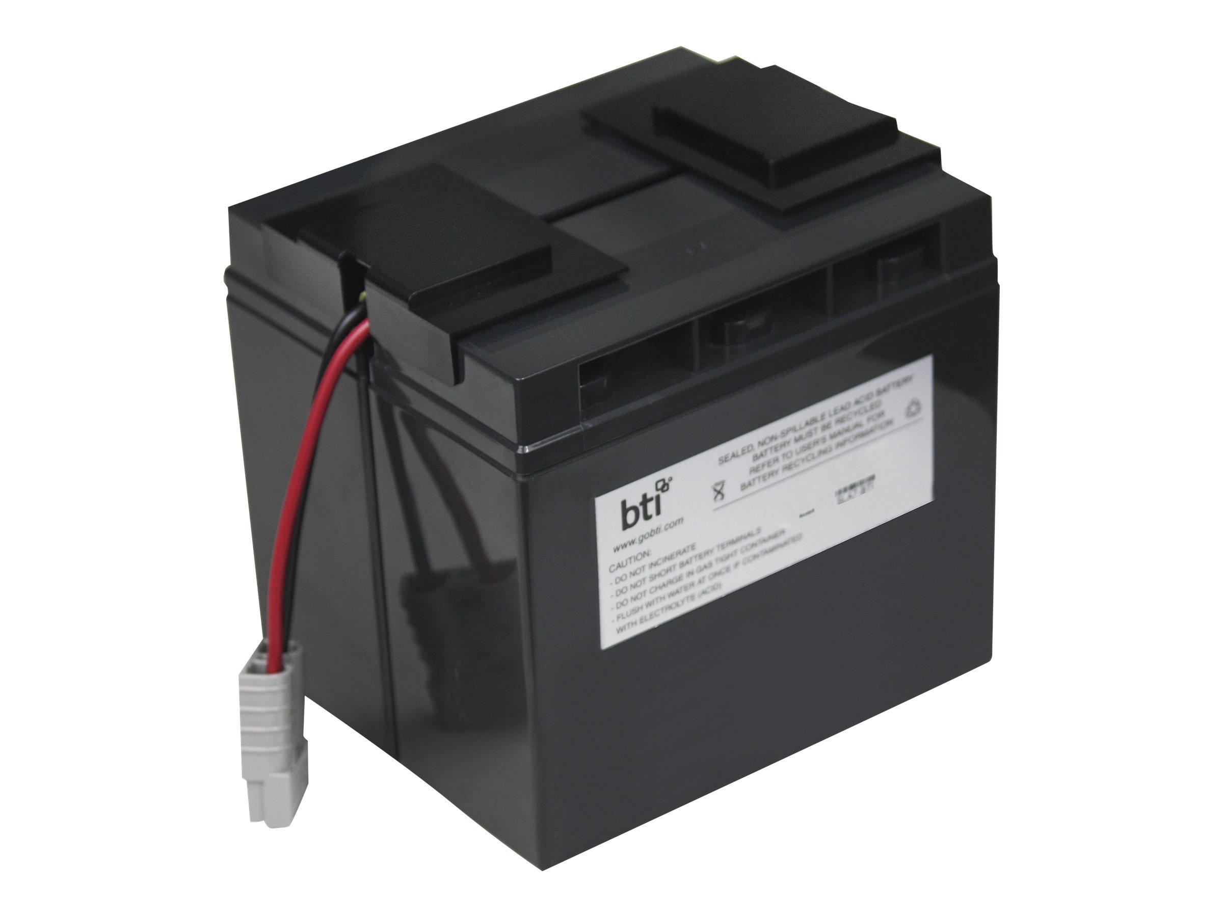 BTI Replacement Battery, RBC7 for APC SU700XL, SU1000XL, BP1400, SU1400 Models, RBC7-SLA7-BTI