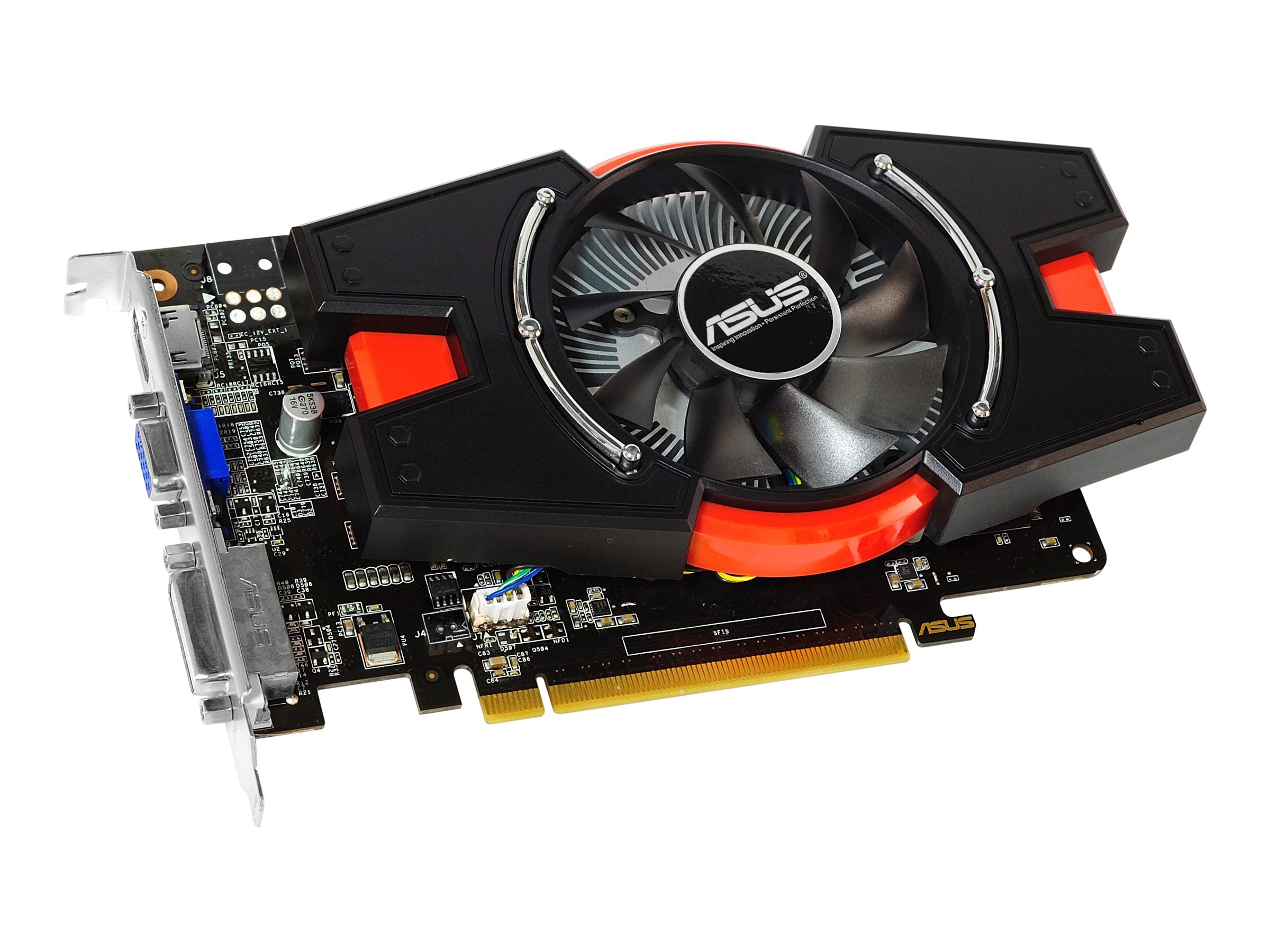 Asus NVIDIA GeForce GTX 650 PCIe 3.0 Graphics Card, 2GB GDDR5