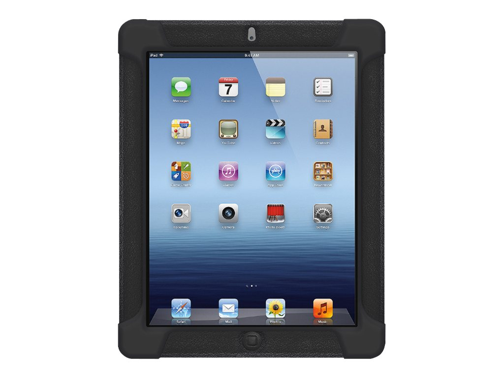 Amzer Silicone Skin Jelly Case for iPad 3, Black, AMZ93511