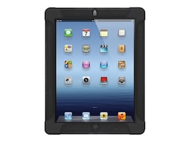 Amzer Silicone Skin Jelly Case for iPad 3, Black, AMZ93511, 15753603, Carrying Cases - Tablets & eReaders