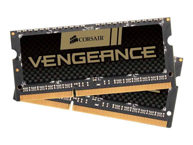 Corsair 16GB PC3-15000 204-pin DDR3 SDRAM SODIMM Kit, CMSX16GX3M2A1866C10