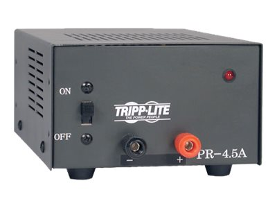 Tripp Lite 4.5-Amp DC Power Supply 120VAC Input to 13.8VDC Output, PR4.5, 5608550, Power Converters