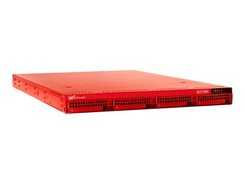 Watchguard XCS 770R and 2Yr. Email Security Bundle, WG771032, 12267781, Network Security Appliances