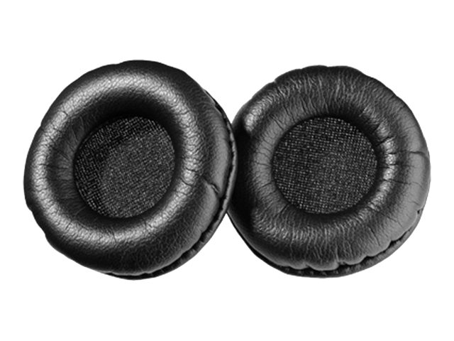 Sennheiser Replacement Leather Ear Cushions for SH 330, CC 510 & CC 520, 504150, 16182591, Headsets (w/ microphone)