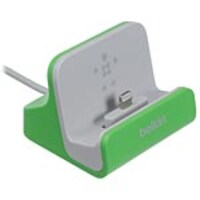 Belkin Mixit ChargeSync Dock for iPhone 5 6 6 Plus, Green, F8J045BTGRN, 24281142, Cellular/PCS Accessories - iPhone