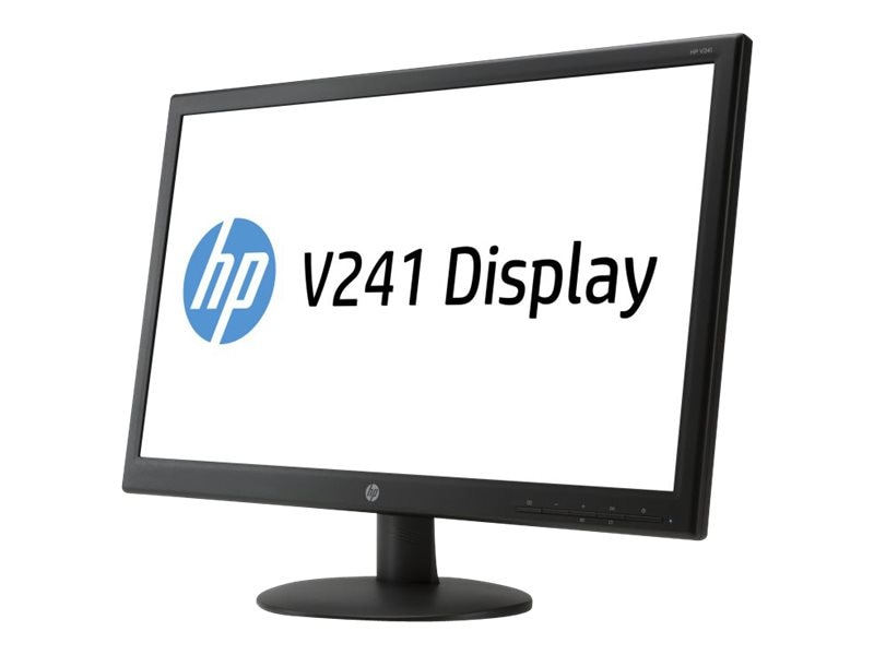 Open Box HP 21.5 V221 Full HD LED-LCD Monitor, Black, E2T08A6#ABA, 17299993, Monitors - LED-LCD