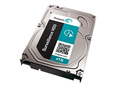 Seagate 4TB Surveillance SATA 6Gb s 3.5 Internal Hard Drive - Seagate Recovery Services Model Number, ST4000VX002