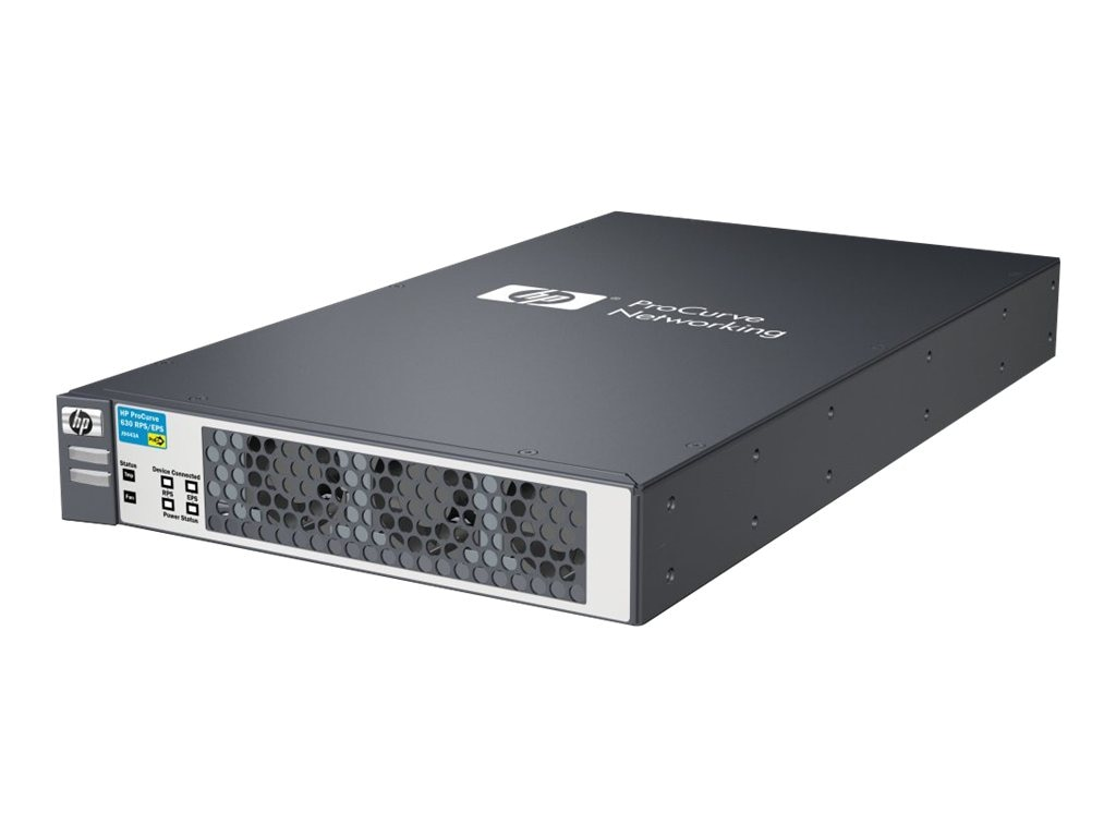 HPE ProCurve 630 Redundant External Power Supply, (2) Cables, J9443A#ABA, 10725988, Power Supply Units (internal)