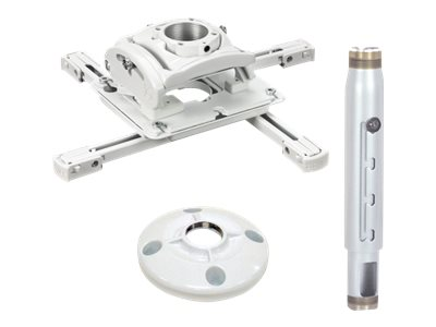 Sanus Universal Projector Mount, Extension Column, Ceiling Plate, KITPD012018W, 17997812, Mounting Hardware - Miscellaneous