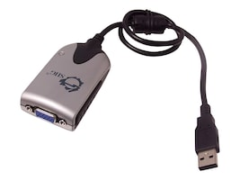Siig USB 2.0 Type A to VGA M F Adapter, JU-000071-S2, 33169540, Adapters & Port Converters