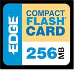Edge 256MB CompactFlash Card
