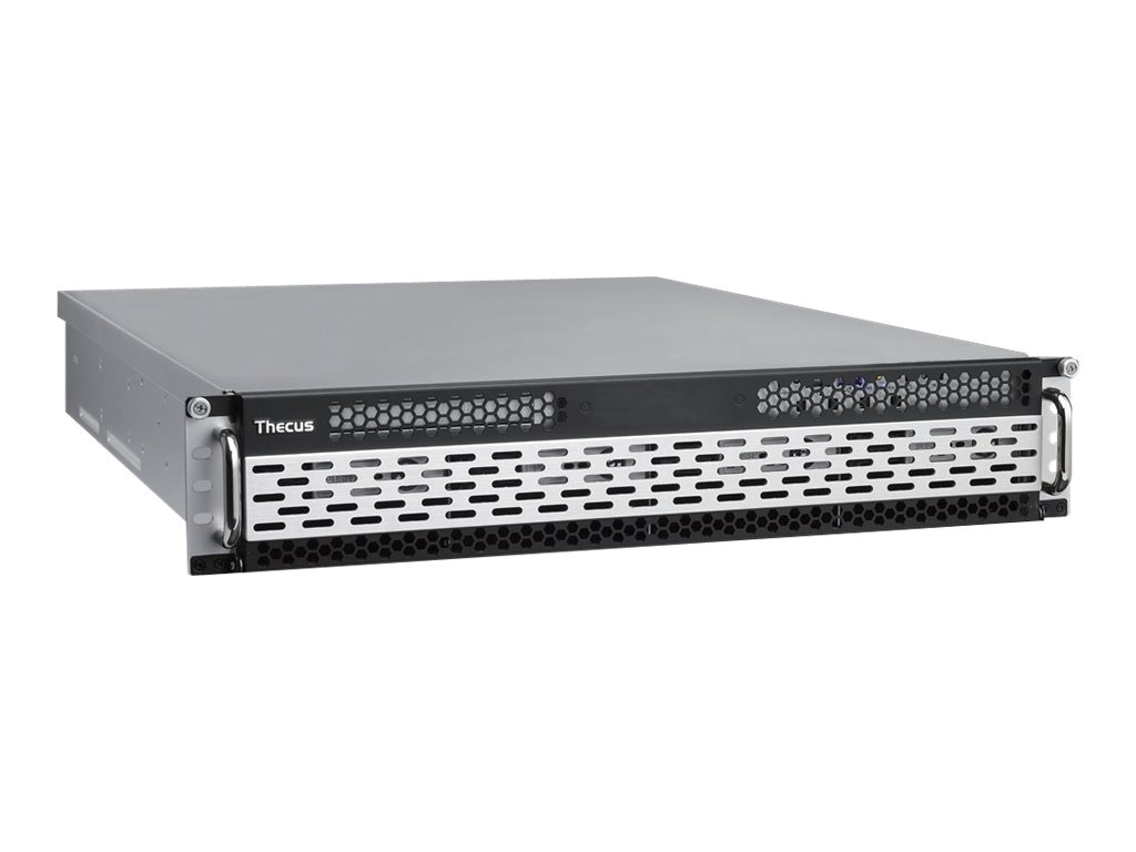Thecus Tech Windows Storage Server, 2U RM, Core i3-2120 3.30GHz 3MB 8GB 1x250GB 2.5 SATA 8x2.5 350W RPS