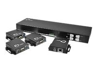 Siig 4x4 HDMI Switch FD Only, CE-H21F11-S1, 15784178, Switch Boxes - AV