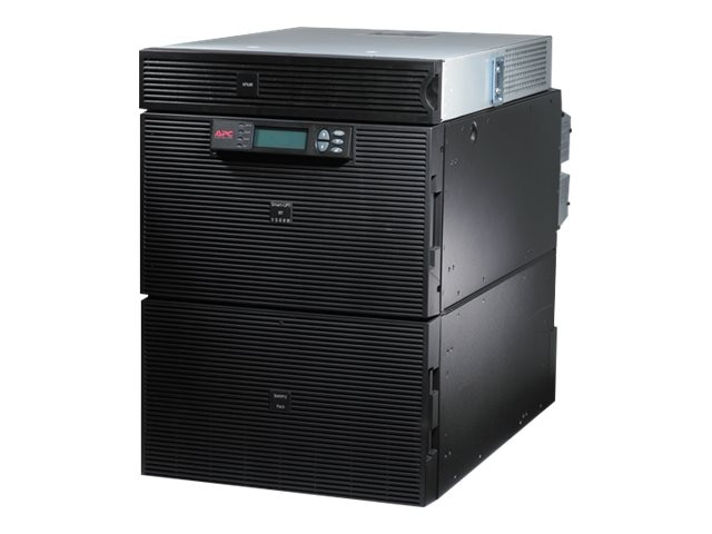 APC Smart-UPS RT 15kVA 12kW 14U RM, 5kVA Step-down Transformer, 208V Input 120-208V Output (18) Outlets, SURT15KRMXLT-TF5, 10124082, Battery Backup/UPS