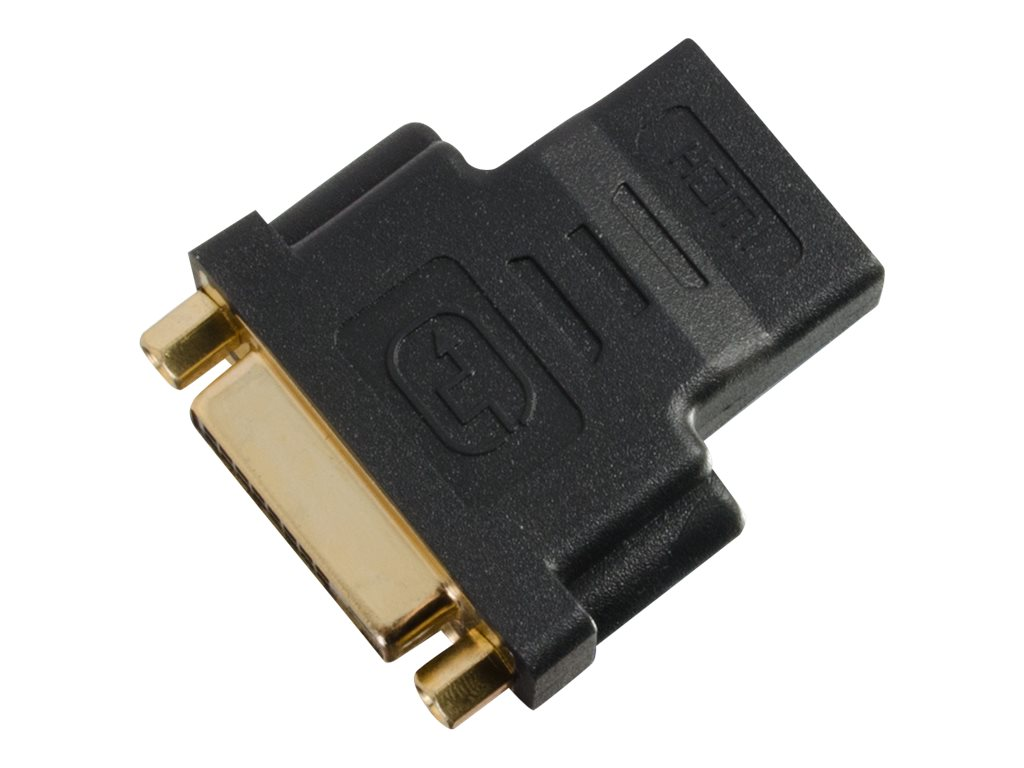 C2G HDMI to DVI-D F F Adapter, Black
