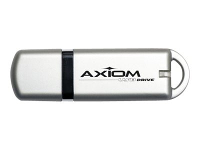 Axiom 4GB USB 2.0 USB Flash Drive with Downloadable Password Protection