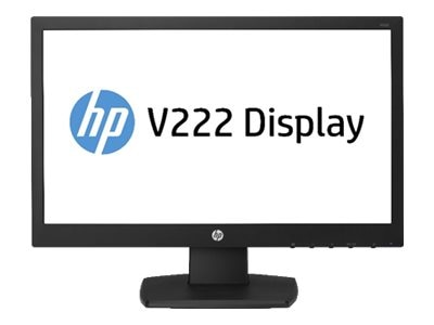 HP Promo 21.5 V222 Full HD LED-LCD Monitor, Black, M1T37A6#ABA, 30639876, Monitors - LED-LCD